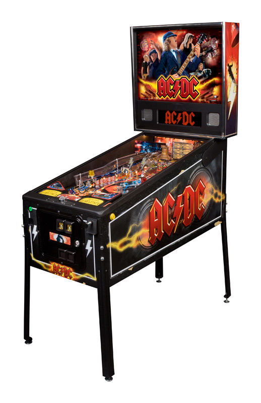 Steve Ritchie will be at the Texas Pinball Festival.  Check out his latest, AC/DC.  There will be four at the TPF!