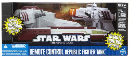 new star wars remote control toy the star wars clone wars republic fighter tank remote control toy.