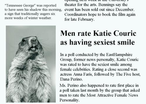 Katie Couric headline