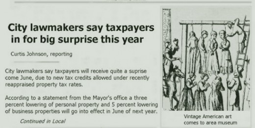 Taxpayers headline