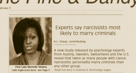 Michelle Obama headline