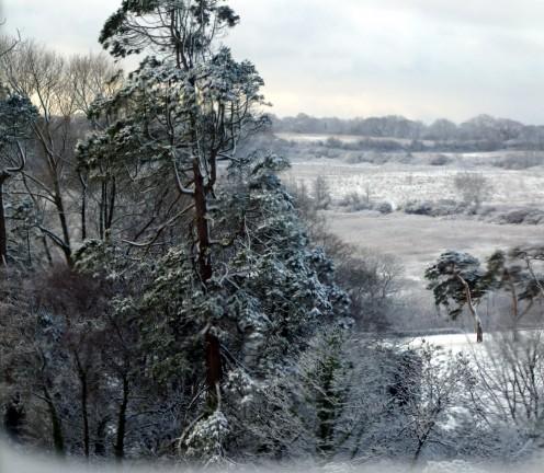Snowy Wales at Christmas