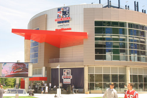 The Hall at Patriots Place opened in 2008 and provided fans a reason to visit the stadium year round.