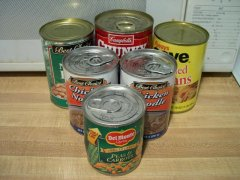 Title: Canned Goods ~ License: MorgueFile License ~ Photographer: SideshowMom