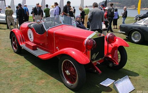 1928 Alfa Romeo 6C 1500 Sport Zagato Spyder