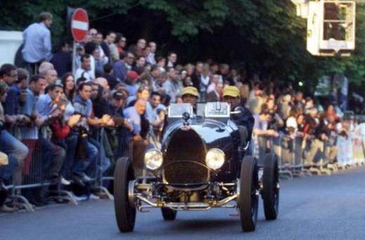 2003 Bugatti wins Mille Miglia!