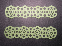 """2 4 1/2"""" Border Punched strips"""