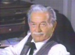 """MILBURN STONE AS """"DOC,"""" THE ONLY DOCTOR IN TOWN, BUT HE DIDN'T """"PRICE GOUGE"""" THE CITIZENS OF DODGE CITY."""