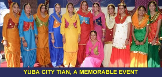 Bhagra dancers
