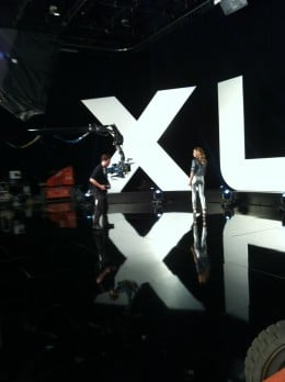 NBC Sports Super Bowl 46 Shoot with Faith Hill