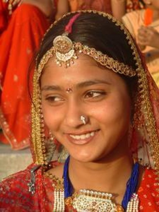 Beautiful Rajashthani girl form village