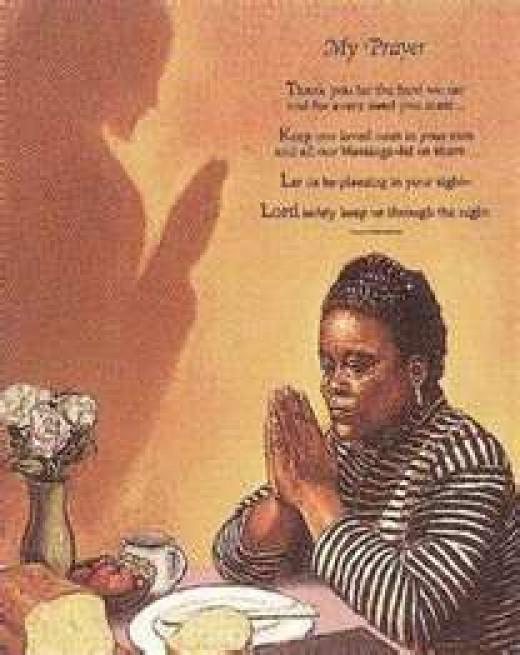 Praying to your God