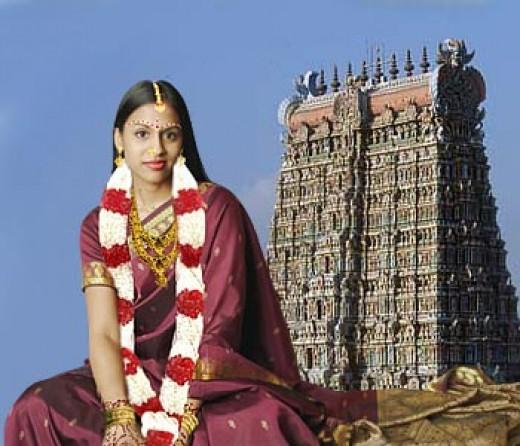 a Tamil bride