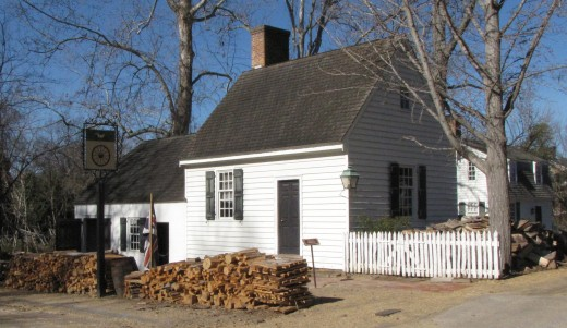 Wheelwright & Blacksmith Buildings, Colonial Williamsburg