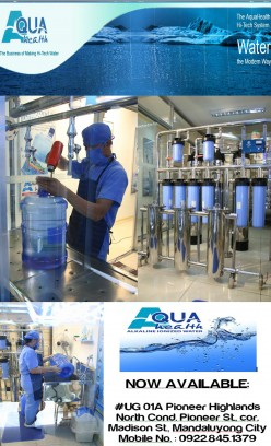 AQUAHEALTH Alkaline Ionized Water for a Healthy Life
