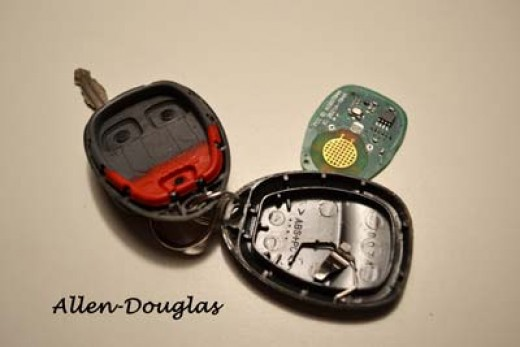 GM Keyless Remote Parts
