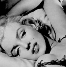 Sexy is a state of mind. Look deep into those eyes. It's no wonder Marilyn Monroe is still idolized for her seduction.