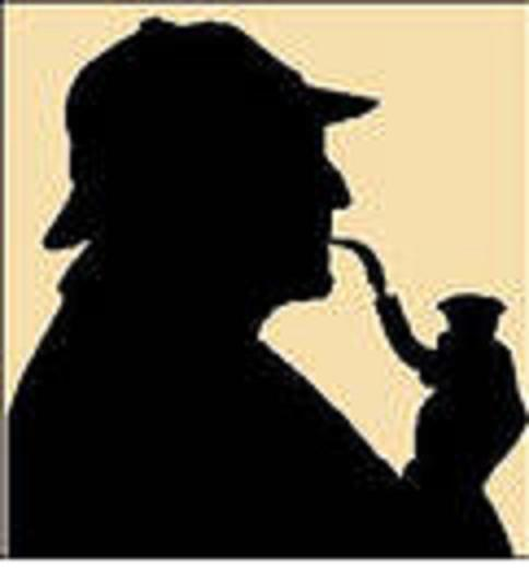 Sherlock Holmes, a fictional detective, famous for his astute logical reasoning and  his use of forensic science skills to solve difficult cases.