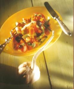Mediterranean Pumpkin Salad