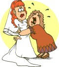 Mother getting emotional at Daughters Marriage Image Courtesy : wpclipart.com