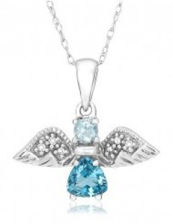 Beautiful Guardian Angel Charms and Angel Wings Jewelry