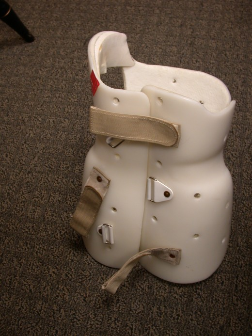 A common type of scoliosis brace