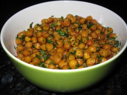 Spicy Roasted Chickpeas: An Emergency Party Snack with Ingredients You Have on Hand