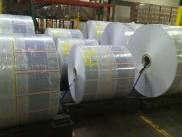 printed rolls with our production