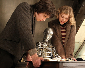 Hugo and Isabelle with the Mysterious Automaton