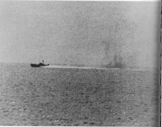 Enemy Torpedo Boats as Maddox Returns Fire, August 2, 1964