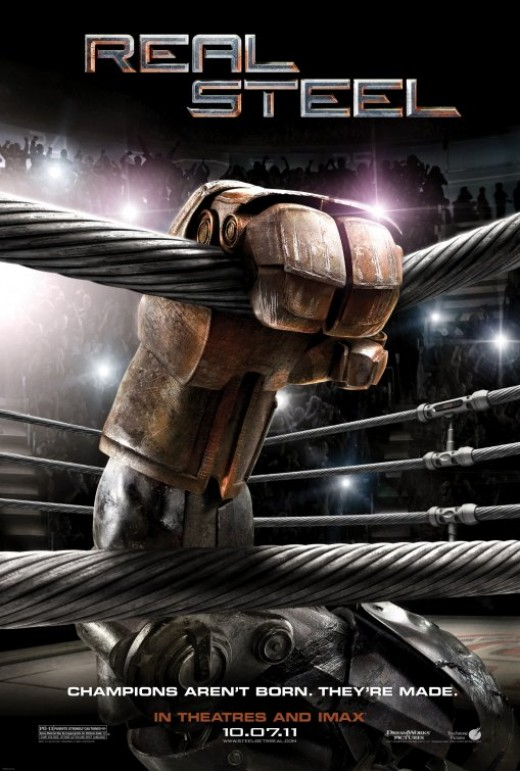 Real Steel Movie Poster #2