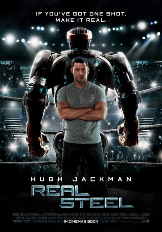 Real Steel Movie Poster #4