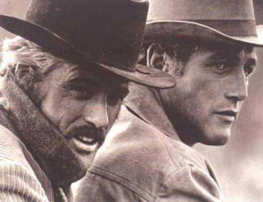"Robert Redford and Paul Newman absolutely nail it as ""Butch Cassidy and The Sundance Kid""."