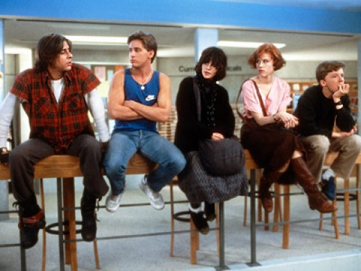 "The teenage ""detainees"" of ""The Breakfast Club""."