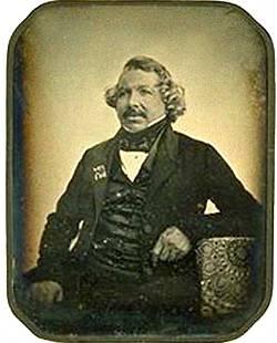 Louis Daguerre in 1844.