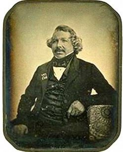 Louis Daguerre in 1844.