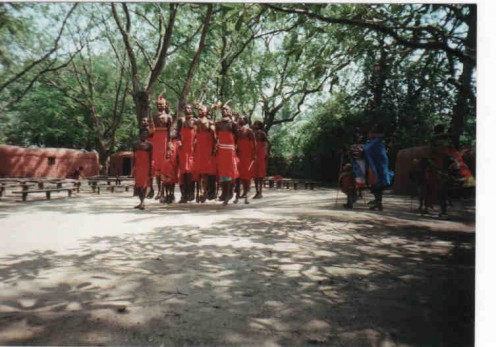 The Jumping Dance of the Masai tribe.
