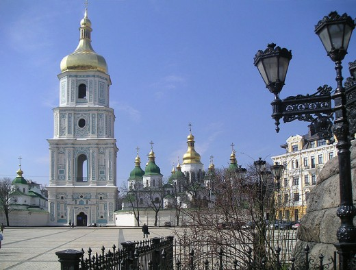 Sophia's Cathedral in Kyiv, Ukraine
