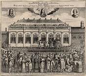 Charles I had the Banquesting house built for him. Then Oliver had his head on the block outside. Was Inigo Jones happy about that?