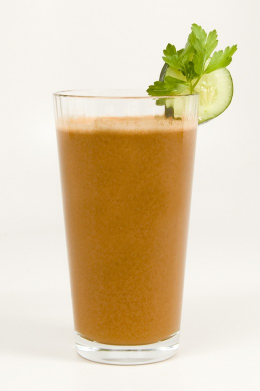 Cucumber, paisley and carrot juice; carrots for weight loss.