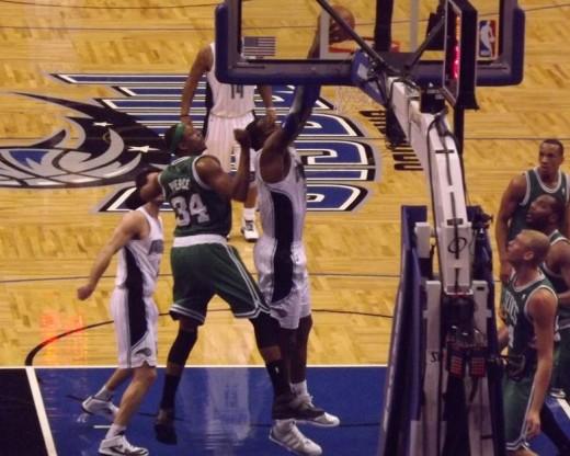 Paul Pierce and Celtics taking on the Magic
