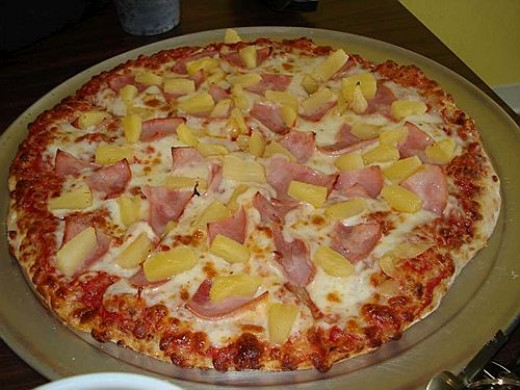 Only I don't have ham on my pizza.  I have bacon!