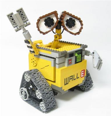 Wally Robot Lego Creation