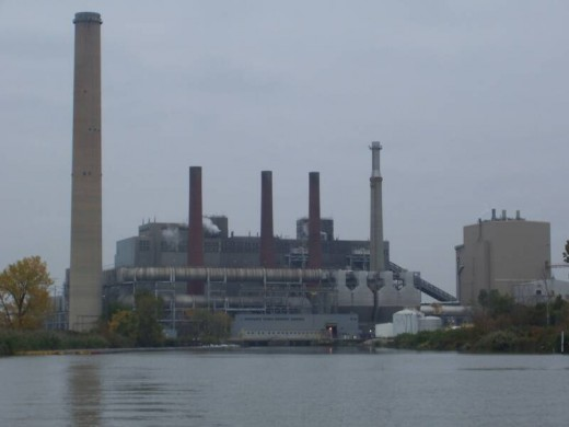 First Energy's Bayshore Power Plant near Toledo Ohio
