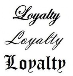 Loyalty is a Key to Success