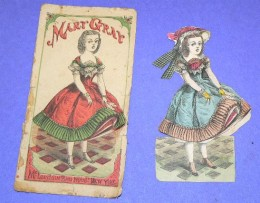 Paper dolls from the early 1900's. They became popular in the United States around 1920.