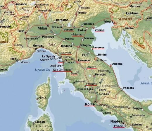 Verona in northern Italy