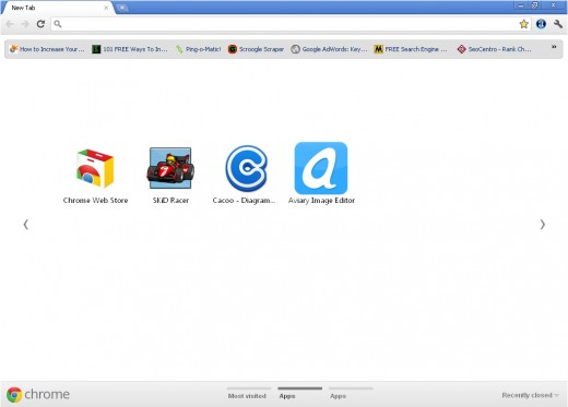 Google Chrome's Window