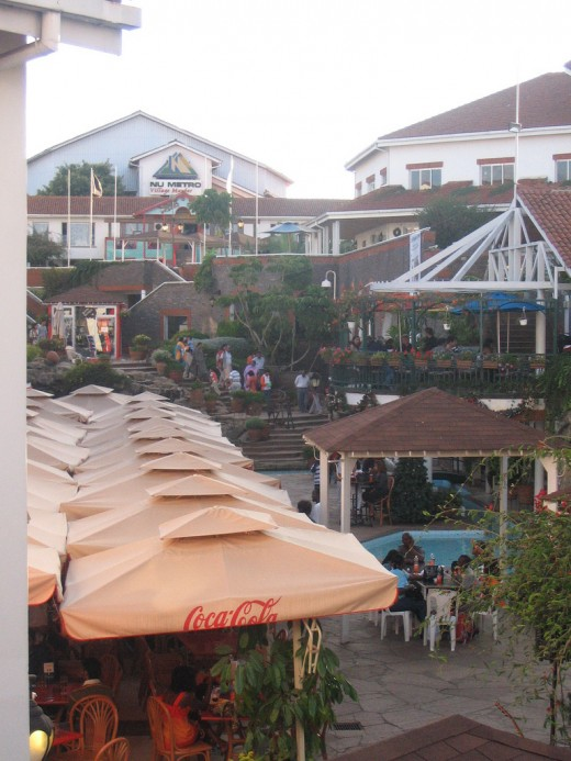 Food Court at the village market,Gigiri