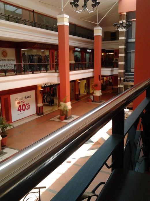 Inside Galleria